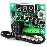 Digitaler Thermostat 12V DC Temperatur Schalter Regler mit Sensor -50-110°C