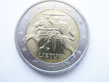 LITHUANIAN 2015 2 EURO COIN ,, THE PRINCE VITIS ON THE HORSE''