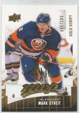 2009-10 UD MVP Gold Script Mark Streit #35 of 100, #110 NY Islanders