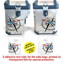Adesivi valigie BMW R1200GS ROSA DEI VENTI Adventure bags stickers FINO AL 2012
