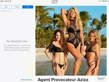a7a5a3bc09 Color  BlackStyle  One-Piece. Agent Provocateur Aziza Sports Illustrated  Christie Brinkley Mesh Swimsuit M 3