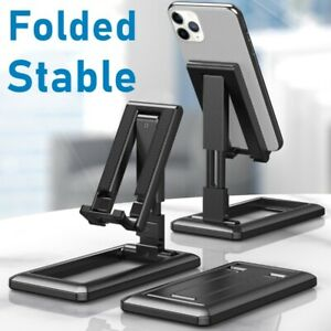 Foldable Tablet Phone Holder Desktop Stand For iPhone Samsung Xiaomi Universal