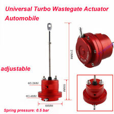 Universal Aluminum Turbo Adjustable Wastegate Actuator with 1Pc spring & 1Pc Rod