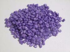 Fish tank bowl aquarium terrarium painted gravel pebbles 2kg purple AA366