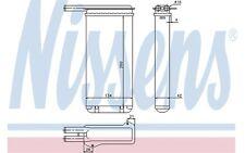 NISSENS Radiador de calefacción FORD ORION ESCORT SIERRA 71755