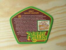 Beermat Coaster Greene King Samsom's Ransom Abbot Ale BM273