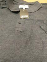 Jacamo Mens 4XL Blue S/ S Polo T Shirt. New Ref G2