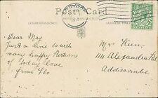 May Keen. 14 Alexandra Road, Addiscombe, Croydon 1917 - Flo (JC.397)