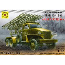 """MODELIST 303548 Model Kit """"MLRS BM-13-16N KATYUSHA (Studebaker)"""", 1/35"""