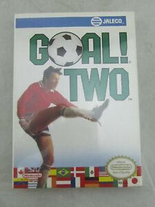 RARE NEW - Goal Two (NES, Nintendo Entertainment System, 1992) Sealed