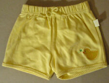 Small Wonder Infant Yellow Duckie Shorts 6-9 Months New