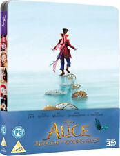 ALICE IM WUNDERLAND: HINTER DEN SPIEGELN (Blu-ray 3D + Blu-ray Disc, Steelbook)