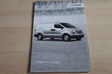 101712) Hyundai H-1 Cargo - Preise & tech. Daten & Ausstattungen - Prospekt 10/2