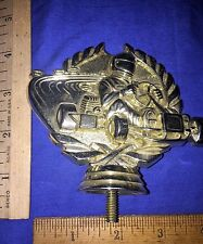 Go Cart Gold Plastic Trophy Topper/Placque