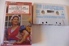 LECOCQ K7 AUDIO TAPE.LA FILLE DE MADAME ANGOT (EXTRAITS).MADY MESPLE B. SINCLAIR