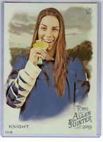Hilary Knight 2019 Allen and Ginter 5x7 #185 /49
