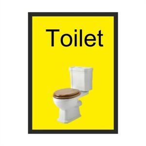 Toilet Dementia Sign 150mm x 200mm - Self Adhesive