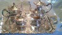 Ascot Sheffield design reproduction by Community silver plated coffee service