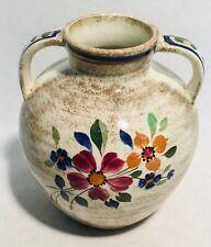 Boch Frères Keramis D2740 Charles CATTEAU 1181K vase Pottery 1920's MINT