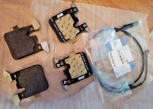 BMW OEM F82 M2 F80 M3 and F82 F83 M4 Rear Brake Pad Set With Sensor Brand New