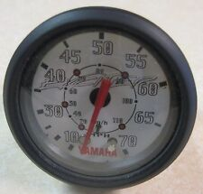 "Faria Yamaha Exciter Boat Gauge 2"" Domed Lens Speedometer 0-70 MPH SE7025A"