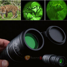 40X60 HD Day&Night Vision Optical Monocular Hunting Camping Hiking Telescope Bid