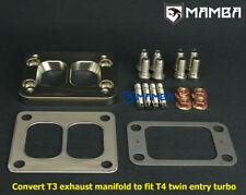 T3 divided to T4 divided Diesel Turbo Adapter Garrett GT4088 HX52 UK STOCK