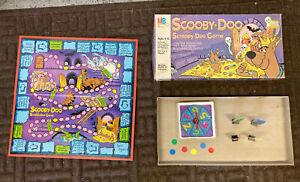 Vintage Scooby-Doo and Scrappy-Doo Board Game 1983 Milton Bradley Complete Set