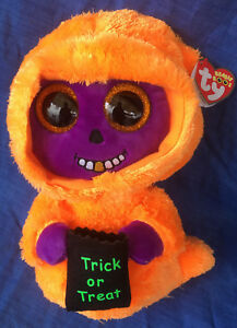 W-F-L TY Boos Skelton Special Offer 8 11/16in Mind Halloween Glubschi Boo ´ S