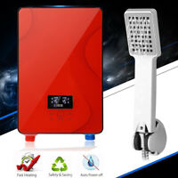 Instant Electric Water Heater Bathroom Bath Shower Tankless Hot Water Syste 220V