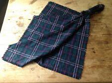 Scottish National Plaid 100% Lochcarron wool