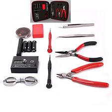 Coil Master V2 DIY Kit Tool Set with Jig Ohm Meter Ceramic Tweezer for RDA 1 Set