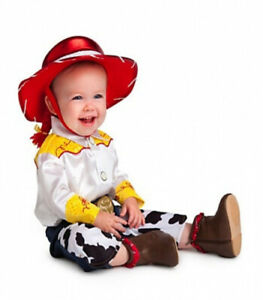 (3T or 3 Years) - Disney Store Deluxe Jessie Costume for Baby Toddlers Toy Story