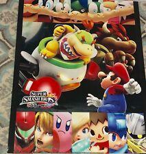 Club Nintendo Super Smash Bros 3DS /Wii U Poster Set Poster Mario & Baby Bowser
