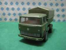 Vintage FAUN LKW Military benne inclinez les remorques MINI-GAMA 920 W. Germany