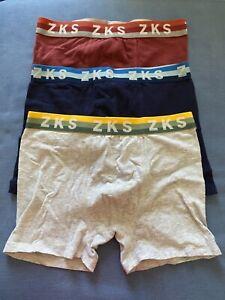 3pc New Zara Boys Boxer Kids Underwear Size 9/10
