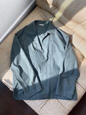 Auralee Men's Light Jacket Overshirt - Army Green - Size 4