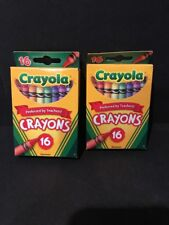 2 Packs Crayola Classic Color Pack Crayons 16 ea New