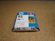 Genuine C9361WN HP 93 Tri-Color Ink Cartridges Sealed MAY 2009