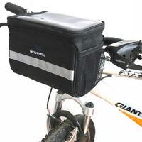 2020 Cycling Bike Bicycle Handlebar Bar Bag Quick Release Front Basket