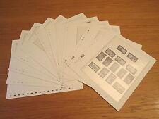 Lindner T falzlos formulario fogli DDR 1977 S. N. 77-87 come nuovo! (895)