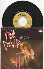"Mink DE VILLE ""Little Girl/She 's così toughl"" 7"" single 1977 Capitol"