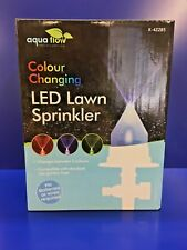 LED Colour Changing Lawn Sprinkler
