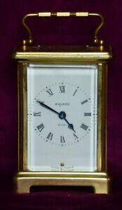 CARRIAGE CLOCK - BAYARD - DUVERDREY & BLOQUEL - 8 day wind up movement - Vintage
