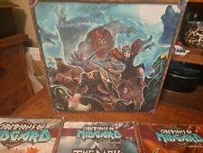 Champions Of Midgard Board Game (w/ Valhalla, Dark Mountains & Game Mat) Big Box
