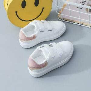 Kids Baby Boys Girls Fashion Trainers Sports Shoes Sneakers Infant Casual Shoes