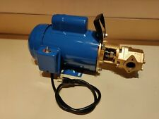 12 GPM 3/4HP WVO WMO Gear Transfer Pump - Waste oil, SVO, Bio USA