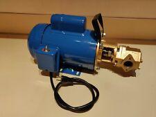 Usa 12 Gpm 34hp Wvo Wmo Gear Transfer Pump Waste Oil Svo Bio Usa