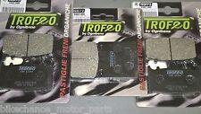 kit pastiglie anteriori + posteriori kawasaki ZXR 750 ZX7R ZX-7R 1989-1995 ninja