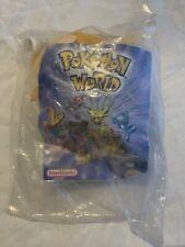 New/sealed -Pokemon World Nintendo Burger King Stuffed Toy - 2000